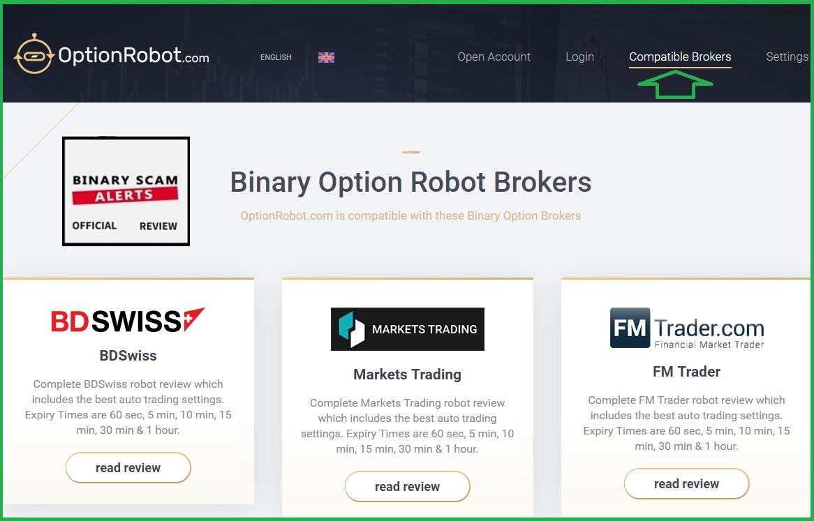 legit binary options