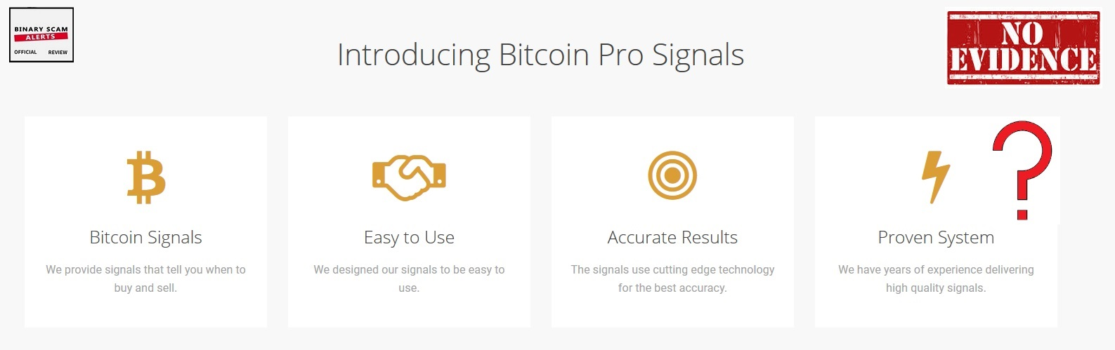Bitcoin Pro Signals Review, SCAM Bitcoin Pro Signals Blacklisted! | Binary Scam Alerts