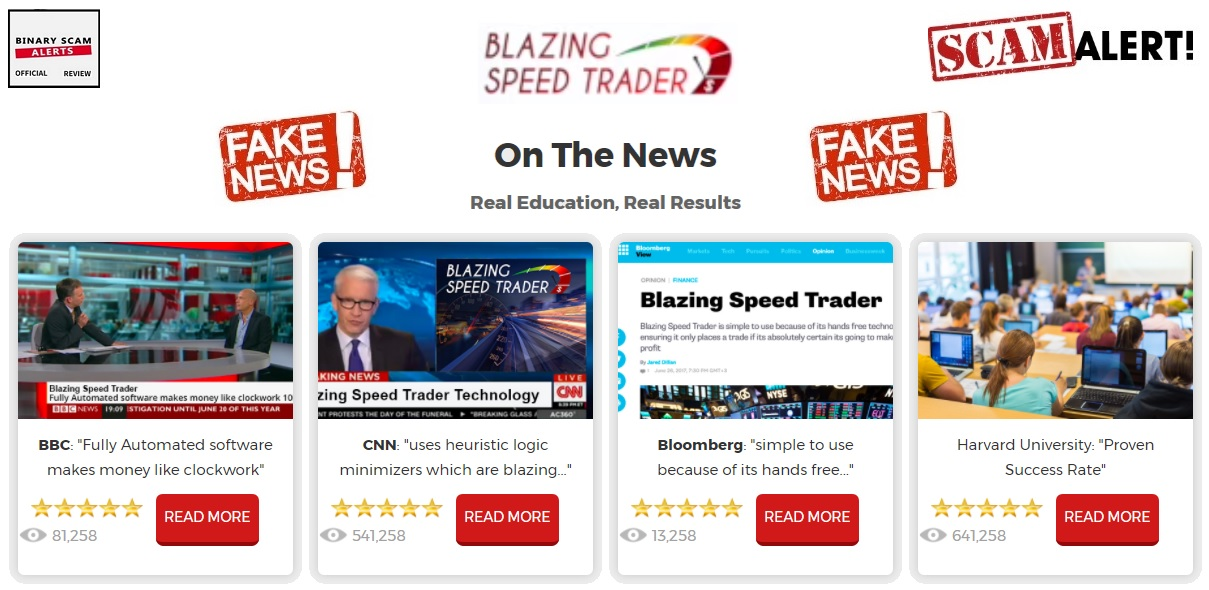 Blazing Speed Trader Review, SCAM Blazing Speed Trader App Exposed ...